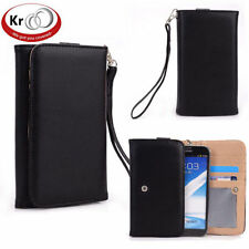 Kroo Clutch Wristlet Wallet Purse with Card slots for Nokia XL
