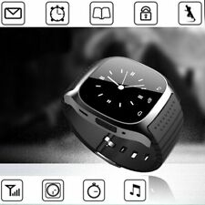 Bluetooth Smart Wrist Watch Phone Mate For Android Apple Smartphone Sony LG
