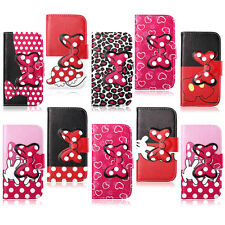Hot Sale For Huawei Ascend Y530 C8813 Cute Bow Leather Flip Wallet Case Cover
