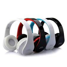 Foldable Wireless Stereo Bluetooth Headset For iPhone Cellphone PC Laptop