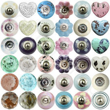 New Selection Of Ceramic Doorknobs Crystal Glass Door Knobs Drawer Furniture