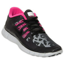 Nike Free 5.0 Shield Womens sz Running Shoes Leopard Pink H2O Repel 615987 006