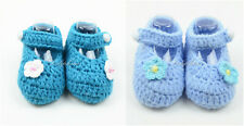 Newborn Baby Crochet Mary Jane Baby Shoes Booties for Baby Girl / Boy