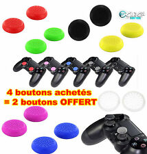 2 BOUTONS CACHE JOYSTICK MANETTE CONSOLE JEUX PS4 BUTTON PS3 XBOX ONE 360