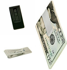 Special Stainless Steel Holder Practical Money Credit Card Cash Clamp Wallet