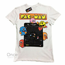 Official Mens PAC-MAN CLASSIC VIDEO GAME T Shirt from PRIMARK