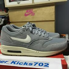 Nike Air Max 1 Essential Matte Silver size 9-11.5 DS iv vi iii xi grey Midnight