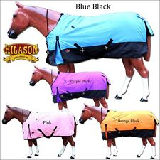 600D HORSE WINTER TURNOUT BLANKET HEAVY DUTY COLD POLY RIPSTOP WATERPROOF