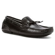 Clarks CIRCUIT PIC Mens Black 00334 Tumble Slip On Casual Loafer Boat Shoes