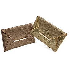 Fashion Womens Sequins Envelope Bag Evening Party Purse Clutch Handbag Stylish