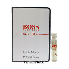 Boss White Edition for Men by Hugo Boss * NEW Fragrance Travel Vial Sample * EDT