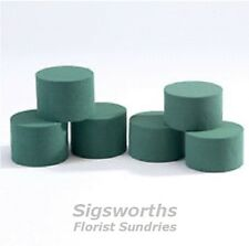 OASIS WET CYLINDERS - ROUND IDEAL - Florist Floral Fresh Flower Foam Brick
