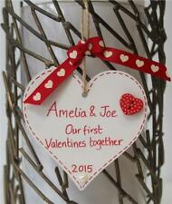 Personalised Handmade Valentines Gift Plaque first Key to my Heart FOR HER HIM