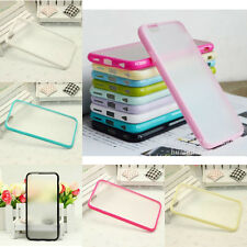 Cheap 6 Solid Colors Transparent Lifeproof Back Case Cover for Iphone 6 & 6Plus