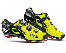 New Sidi Drako MTB Cycling Shoes, EU38-48, Yellow Fluorescent