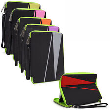 """D Water Resistant Nylon Pouch Sleeve Case Cover Stand for 7"""" Tablets E-Readers"""