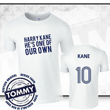 Tottenham Hotspurs Harry Kane One of Our Own T-Shirt COYS White Spurs Tee