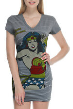 DC Wonder Woman V-Neck T-Shirt (Women's)