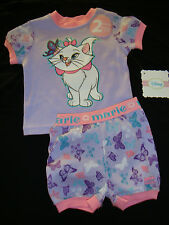 """DISNEY ARISTOCATS """"MARIE"""" butterfly   SLEEP / PLAY SET  NWTS ADORABLE"""