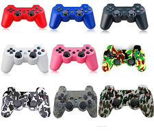 Newest Arrival & 10 Colors Wireless Shock Bluetooth Game Controller For Sony PS3