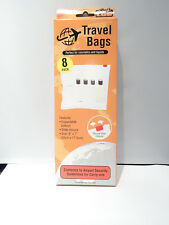 Airport security travel liquid bags for hand luggage conforms to regulations