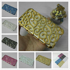 New Electroplating Palace Pattern Hollow Flower Hard Case Cover For Apple iPhone