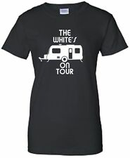 CARAVAN TOUR LADIES FITTED T-SHIRT PERSONALISED CAMPING TSHIRT CAMPER T SHIRT