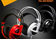 HOT Sell New Stereo Game Headphones Headset SteelSeries Siberia V2 Full-size