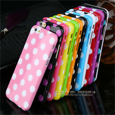High-Quality Polka Dot Soft TPU Phone Case Cover For iPhone 4G 4S 5C 5G 5S 6