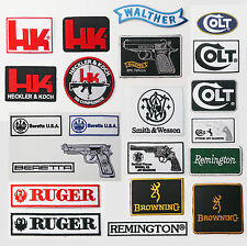 GUNS / FIREARMS Maker Patch SETS - Your Choice, UK Stock, Fast & Free Postage!