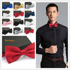 1Pc Classic Mens Tuxedo Butterfly Wedding Party Bowtie Adjustable 8Colors