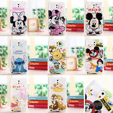 Ultra Thin Cartoon Soft TPU Clear Case Cover for Samsung Galaxy Note3 4 S3 S4 S5