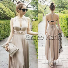 Ladies Sexy Quinceanera Cocktail Evening Gown Party Boho Skirts Long Dress