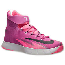 Nike Zoom HyperRev Basketball Shoes Kay Yow Breast Cancer Pink Fire 630913 601