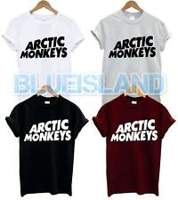 ARCTIC MONKEYS T SHIRT LOGO AM SOUNDWAVE BAND MUSIC TOUR GIG CONCERT TSHIRT