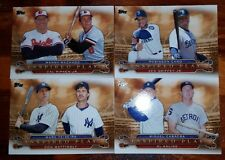 2015 Topps Baseball Inspired Play Griffey Jr Ripken Musial You Pick Your Card