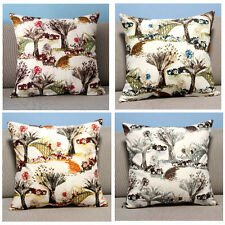 """Multi-color Square 18"""" 45cm Country Road Tree Throw Pillow Case Cushion Cover"""