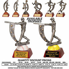 Action Star Awards Trophy  All Sports - Free Custom Plaque - Football Soccer