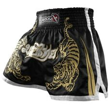 Hayabusa Muay Thai Shorts (Black) - sparring mma gym