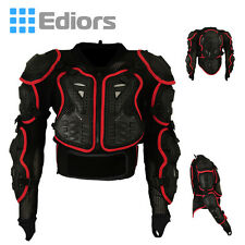 Motorcycle MX-Full Body Armor Jacket Spine Chest Shoulder Protective Riding Gear