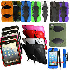★ HEAVY DUTY RUGGED SHOCKPROOF BUILDERS WORKMAN CASE COVER MOBILES - TABLETS ★