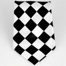 Checker Square Plaid Childrens Kids Boys Pretied Flexible Neck Tie Necktie bow