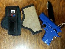 Springfield XDS-9, 40 and 45 Tuckable ITP IWB Carry Concealed Holster Leather