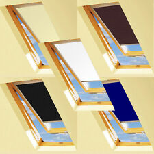 BLACKOUT thermal blinds for KEYLITE roof window (Easy Fitting, Made in UK)