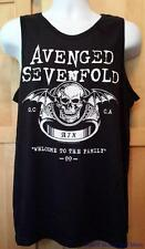"AVENGED SEVENFOLD Shirt/Tank Top ""Welcome To The Family "" Licensed S- 2XL NEW"