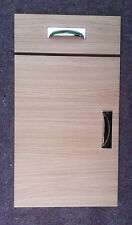 Oak Effect Fitted kitchen unit cupboard cabinet door drawer fronts replacements