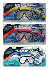 OSPREY ADULT SPORTS HOLIDAY SWIMMING BEACH  MASK & SNORKEL SNORKELING DIVING SET