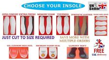 New Extra Comfort Insoles Shoes Boots Padded Soft Inserts Comfort Footwear