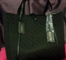 NWT GUESS IVY LEE LOGO TOTE COAL!!!
