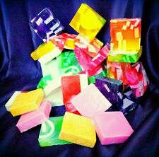 Handmade Scented Soap Slices Approx 100g Glycerin Great Gift Buy 4 get 5th Free